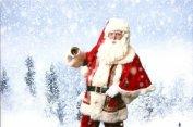 kerstman op de foto